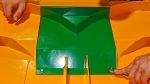 Green No Catch Baffle for Walker DGHS48/D48C mower deck